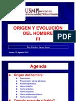 2-Segunda Clase-Origen y Evolucion Del Hombre (i)-10ago11