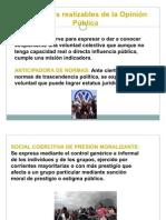 5.FUNCIONES REALIZABLES DE LA OPINIÓN PÚBLICA (1)