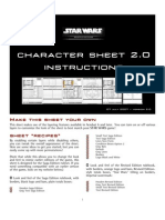 Star Wars Char Sheet Instructions