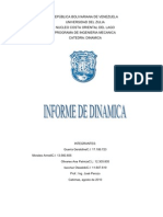REPÚBLICA BOLIVARIANA DE VENEZUELA dinamica