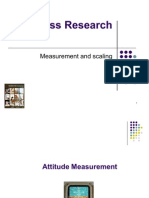 Measurement and Scaling BRM Session 3.1