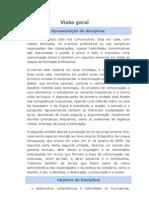 Comunicação e linguagem - Visão geral da disciplina