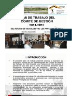 Plan de Trabajo del COMITÉ DE GESTIÓN