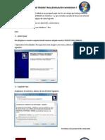 Instalar Trident Millennium en Windows 7
