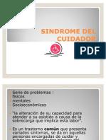 Sindrome Del Cuidador Pacientes