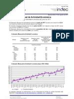 Estimación de la economía argentina [Junio 2011]