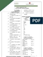 cuestionario 1º Sistemas de Unidades