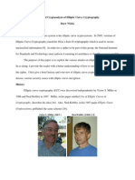 Review of Cryptanalysis of Elliptic Curve Cryptography