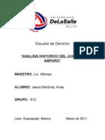 Analisis Hist. Del Juicio de Amparo-jesus