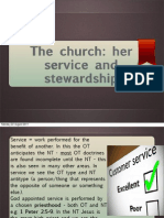 Section 9 Church Service Stewardship