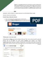 Cómo crear un blog en Blogger IMPRIMIR