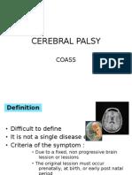 Cerebral Palsy Coass
