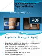 Athletic Taping and Bracing 2