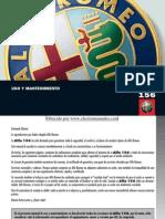 Manual Alfa 156