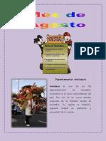 Mes de Agosto PDF
