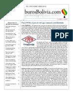 Hidrocarburos Bolivia Informe Semanal Del 15 Al 21 Agosto 2011