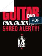Paul Gilbert - Shred Alert