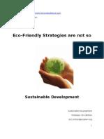 Clement Fernandez - Eco-Friendly Strategies