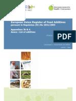 Comm Register Feed Additives 1831-03