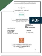 BISLERI PROJECT REPORT