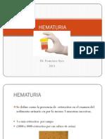CURSO PRE INTERNADO DE HEMATURIA