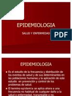 Epidemiologia Unidad 2 Salud y Enfermedad