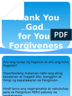 Thank You God for Your Forgiveness 2