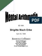 Mental Arithmetic