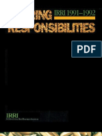 IRRI Annual Report 1991-1992