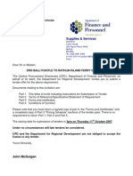 Rathlin Ferry S1417305 First Tender Document