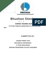 Bhushan Traioning Report 786