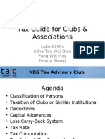 Tax Guide for Clubs & Associations[1]