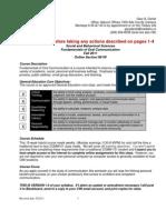 COMM101 Online Workbook