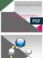 Attendance Monitoring System
