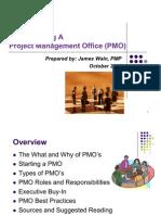 Pmo Presentation Rev 102007