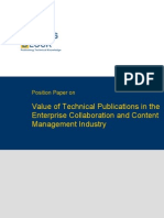 TWB Position Paper Enterprise Content Management Industry