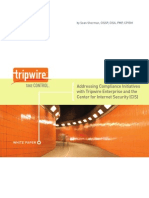 Tripwire Addressing Compliance With CIS Benchmarks WP