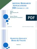 MR Applications 1