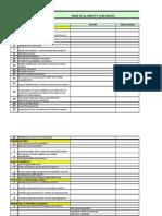 H&S Checklist