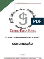 Ética e Cidadania Organizacional COMUNICAÇÃO