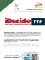 iDecide2B Campaign