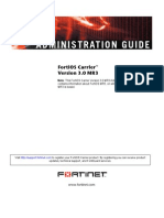 FortiOS Carrier Administration Guide