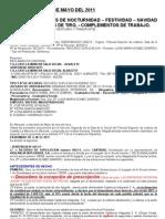 Senetncia Horas Extras 16-05-2011