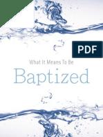 Baptism Brochure