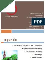 Delhi Metro PPT