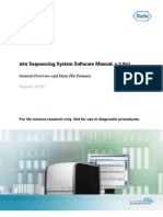 454 Sequencing Software Manual