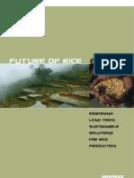 Future of Rice