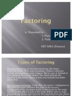 Factoring - Pravin