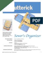 Sewers Organizer