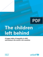 Innocenti Report Card 9 - The Children Left Behind